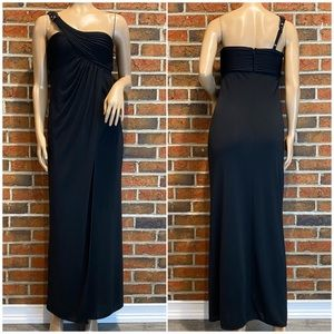 BCBGMaxAzria Maxi Length Black Evening Gown XS